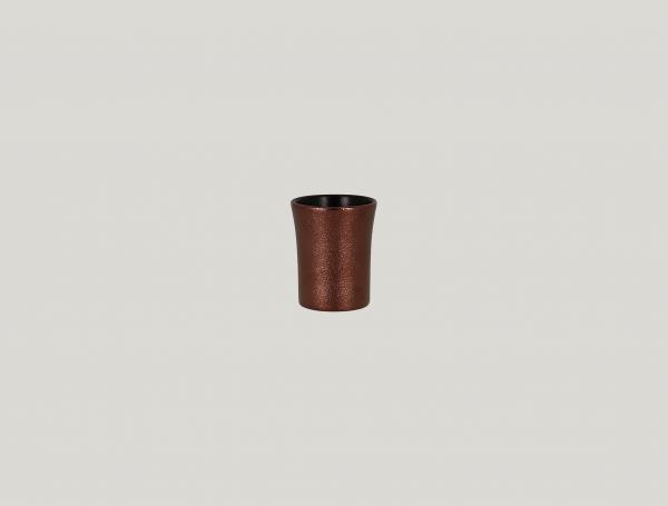 RAK Tasse ohne Henkel D. 6 cm H. 7 cm Inh. 9 cl METALFUSION bronze