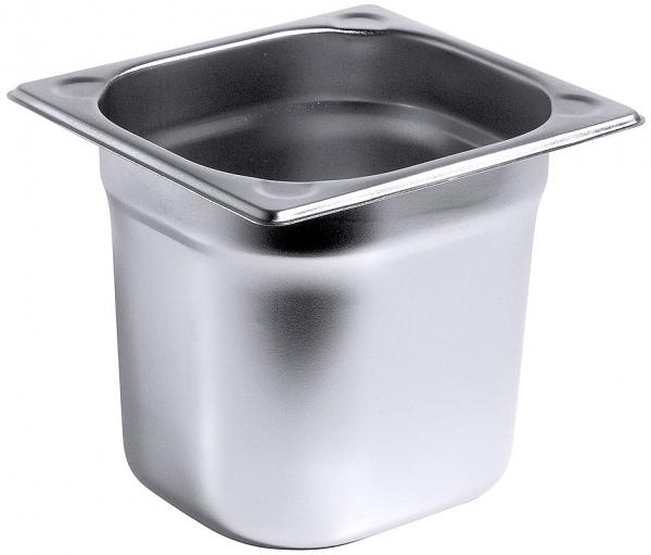 GN-Behälter Serie 8600 1/6 Tiefe: 150 mm Volumen: 2,4 l
