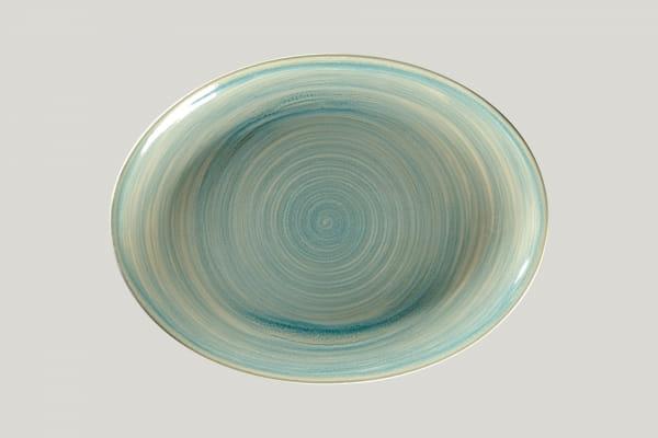 RAK Platte oval L 36 cm B 27 cm RAKSTONE / SPOT saphire (SSRNNOP36)