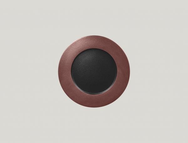 RAK Teller flach D. 22 cm H. 2 cm METALFUSION bronze