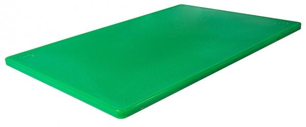 Schneidbrett HACCP mit Füßchen Länge: 45 cm Breite: 30 cm Dicke: 1,2 cm grün