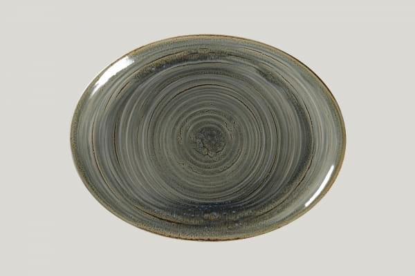 RAK Platte oval L 36 cm B 27 cm RAKSTONE / SPOT peridot (SPTNNOP36)