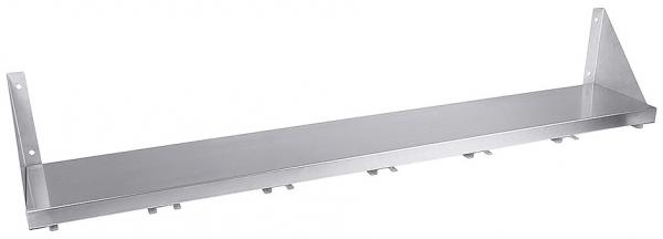 Wandboard für GN-Behälter 1/6 Länge: 120 cm Breite: 20 cm Höhe: 20 cm Anzahl der Fächer: 6