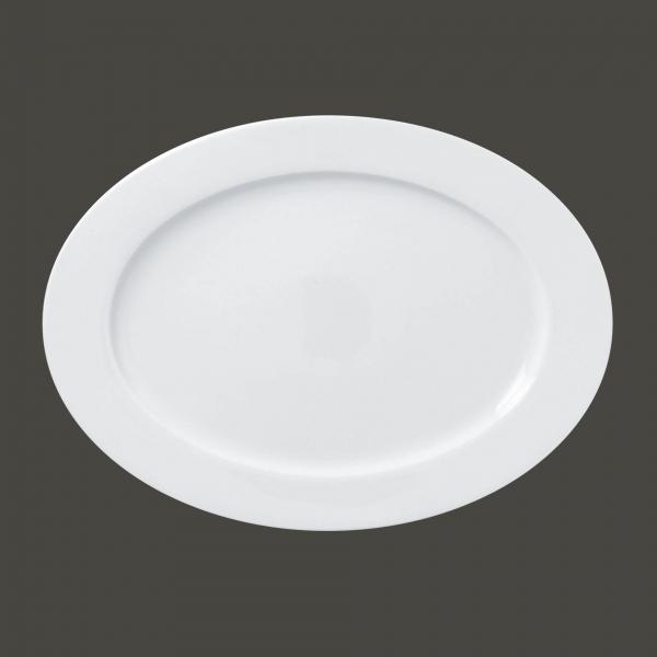 RAK Platte oval L 35,5 cm B 26 cm H 2 cm POLARIS ACCESS weiß (ASOP36)