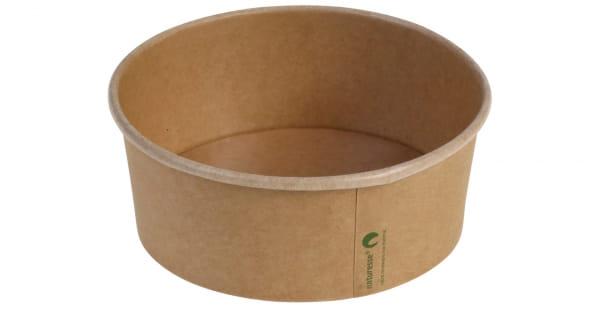 Naturesse Salatschale Kraftpapier Ø 15 cm 680 - 750 ml braun (17012)