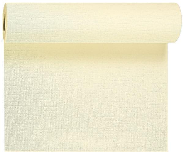 DUNI Tischläufer Evolin Tête à Tête 41 cm x 1,20 m 24 m cream