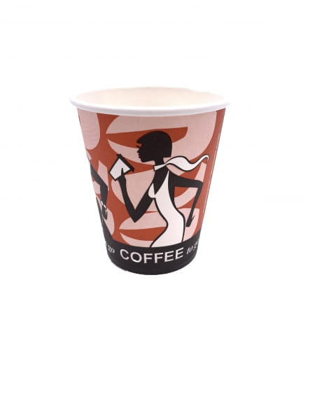 """Paper Cups """"Coffee to go"""" 8 oz / 200 ml Ø 80 mm"""