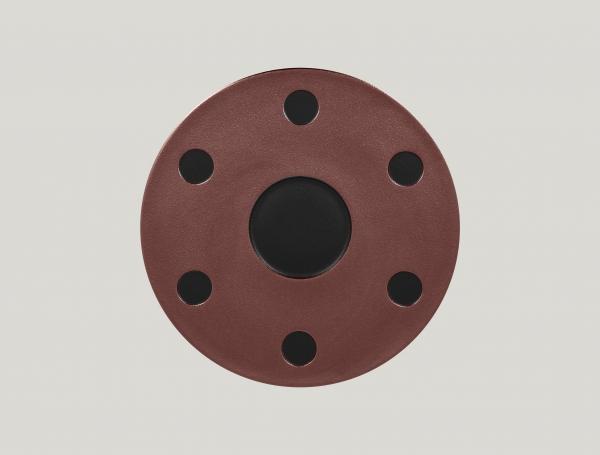 RAK Platte für Kaffee Set arabisch D. 31 cm METALFUSION bronze