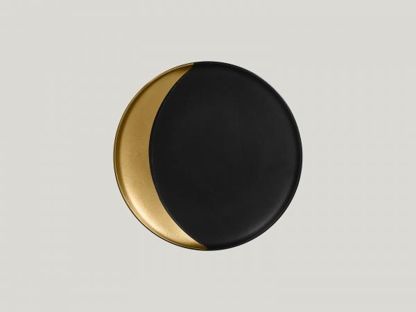 RAK Teller tief rund D. 24 cm METALFUSION gold