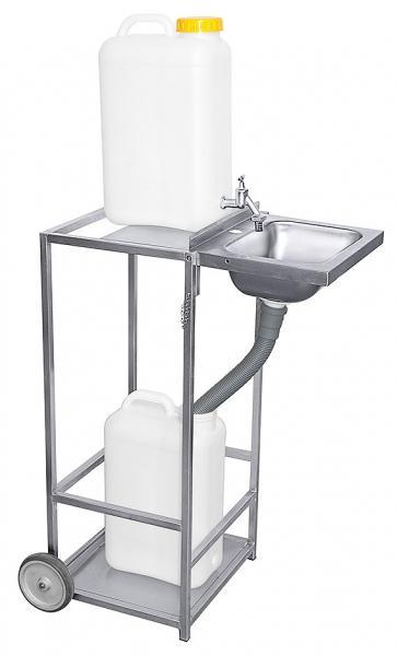 Mobiles Waschbecken Höhe: 85 cm Breite: 45 cm Tiefe: 36 cm