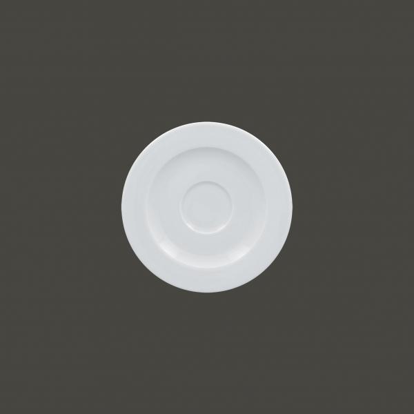 RAK Untertasse Ø 13 cm Ht. 1.5 cm weiß (ASSA13)