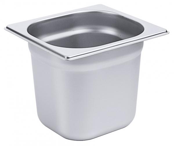 GN-Behälter 1/6 Tiefe: 150 mm Volumen: 2,4 l