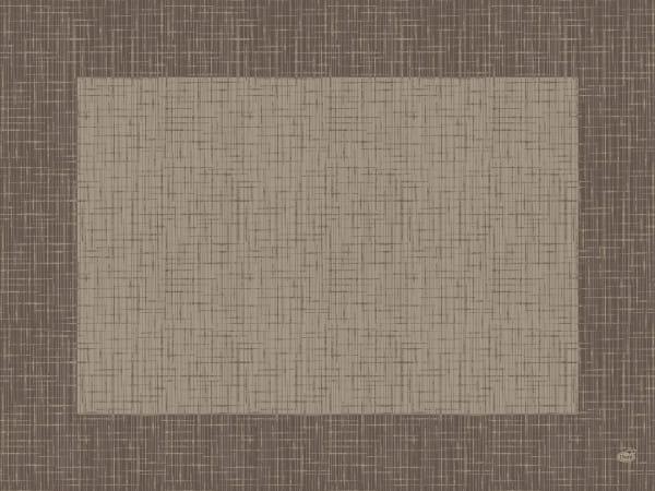 DUNI Tischsets Dunicel 30 x 40 cm Linnea greige 5 x 100