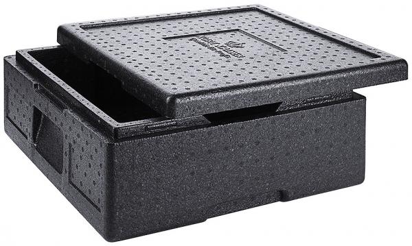 Thermo- Pizzabox Höhe außen: 18,5 cm Höhe innen: 12 cm Volumen: 14,5 l