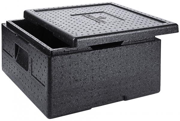 Thermotransportbox für Pizzakartons Höhe außen: 24,5 cm, Höhe innen: 18 cm Volumen: 22 l