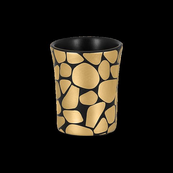RAK Tasse ohne Henkel D. 6 cm H. 7 cm Inh 9 cl PEBBLES gold
