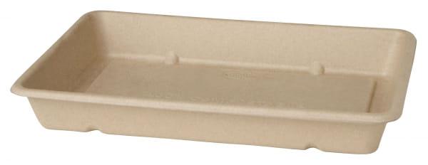 DUNI Menübox aus Bagasse 230 x 155 x 36 mm 850 ml braun (177008)