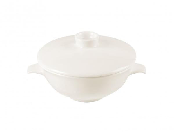 Suppentassen & Deckel Ø 12 cm h 11 cm weiß 27 cl (NNCS27)