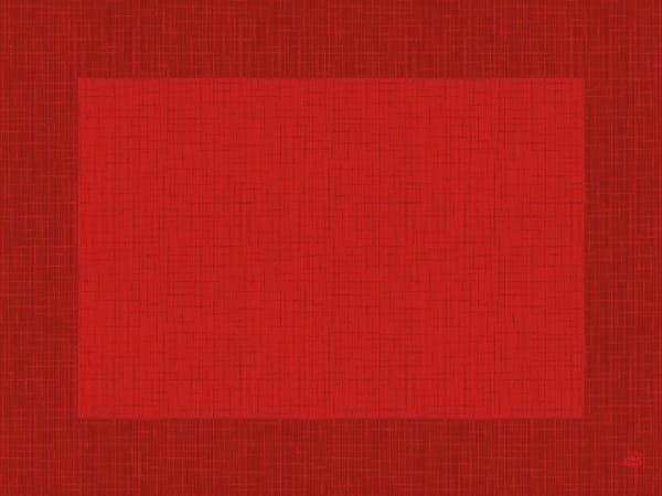 DUNI Tischsets Dunicel 30 x 40 cm Linnea rot