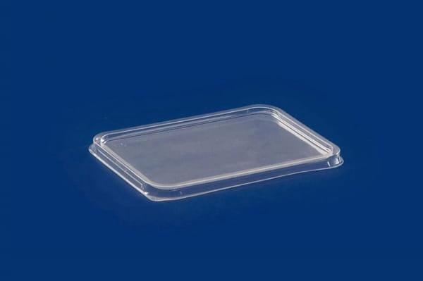Deckel für Unischale PP 426530 transparent 180x133 mm