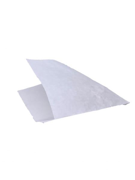 Perga-Snackbeutel Newspaper 2-seitig offen 15 x 16 cm weiß