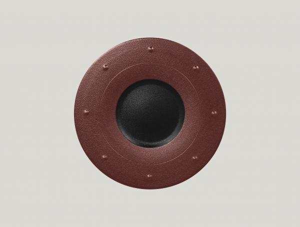 RAK Teller rund D. 28 cm METALFUSION bronze
