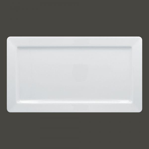 RAK Teller rechteckig Länge: 28 cm Breite: 21 cm ACCESS weiß (ASRP38)
