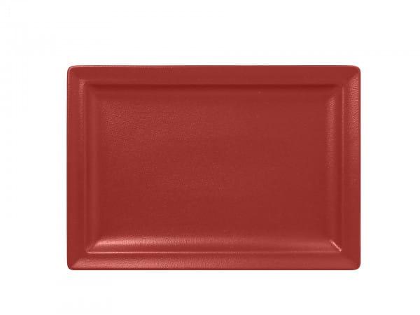 RAK Teller flach rechteckig 33 cm x 23 cm - NFCLRP33DR (magma)
