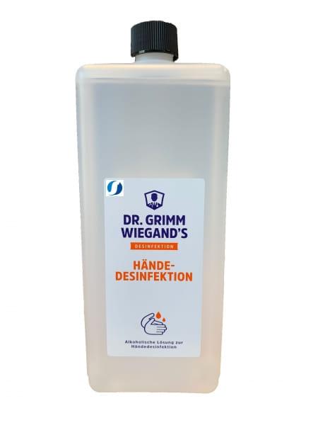 Dr. Grimm Wiegand´s Händedesinfektionsmittel 1 Liter