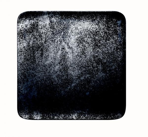 RAK Teller quadratisch 27 x 27 cm KARBON schwarz (KRAUSP27)