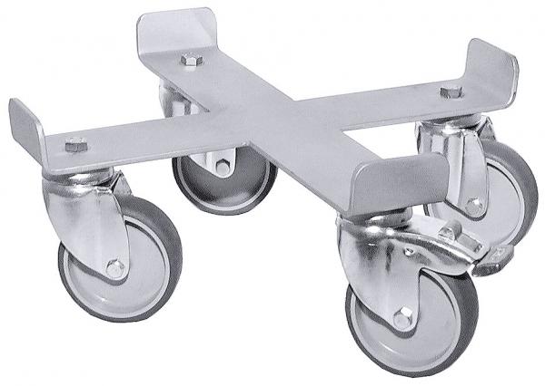Rolluntersatz, vierarmig ∅ Rad: 75 mm passend zu 3008/025 & /030