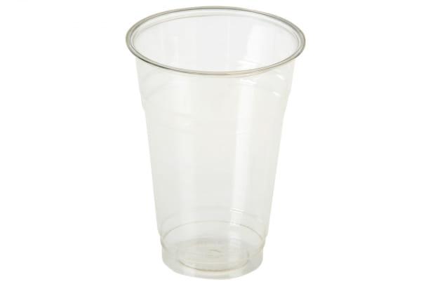 Trinkbecher PLA 0,4 l für Kaltgetränke transparent