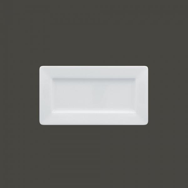 RAK Teller rechteckig 13 x 24 cm ACCESS weiß (ASRP24)