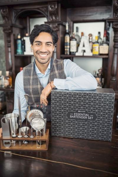 Essential Bartender Set by Nic Shanker