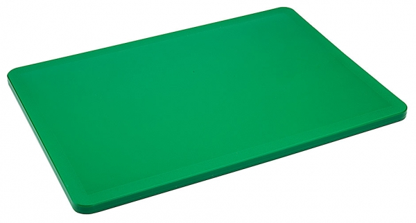 Schneidbrett HACCP Länge: 34,5 cm Breite: 24,5 cm Dicke: 1 cm grün