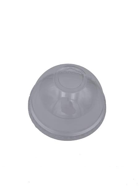 Smoothie Dom-Deckel PET für Artikel 114053 mit Loch Ø 95 mm klar