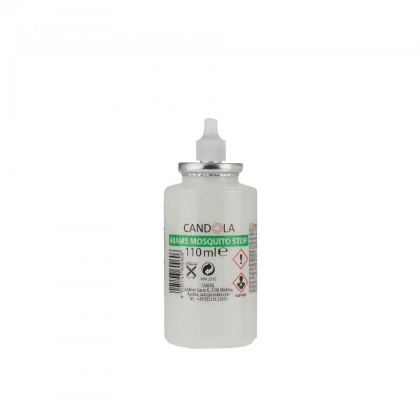 Candola Austauschflasche MOSQUITO STOP 60AMS 110 ml Brenndauer bis 35h -24 Stück