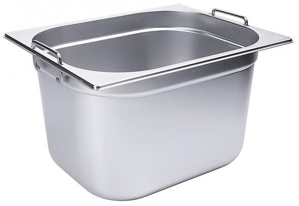 GN-Behälter mit Fallgriffen 1/2 Tiefe: 200 mm Volumen: 12,5 l