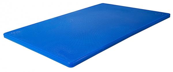 Schneidbrett HACCP mit Füßchen Länge: 45 cm Breite: 30 cm Dicke: 1,2 cm blau