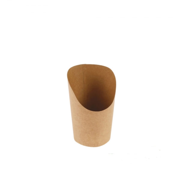 Naturesse Wrap Becher Kraft/PLA 360 ml 85/60x120 mm 20 x 50