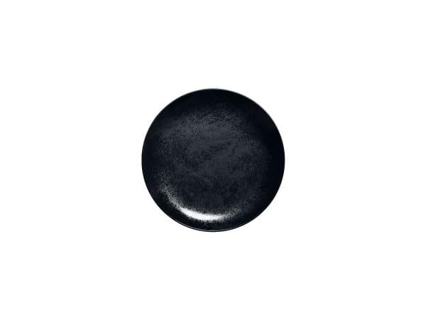 RAK Teller flach Coup Ø 15 cm KARBON schwarz (KRNNPR15)