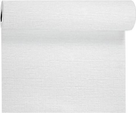 DUNI Evolin-Tischläufer Tête-à-Tête 24 m x 40 cm weiß
