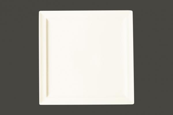 RAK Teller flach quadratisch 27 cm x 27 cm Ht. 2.3 cm CLASSIC GOURMET (CLSP27)
