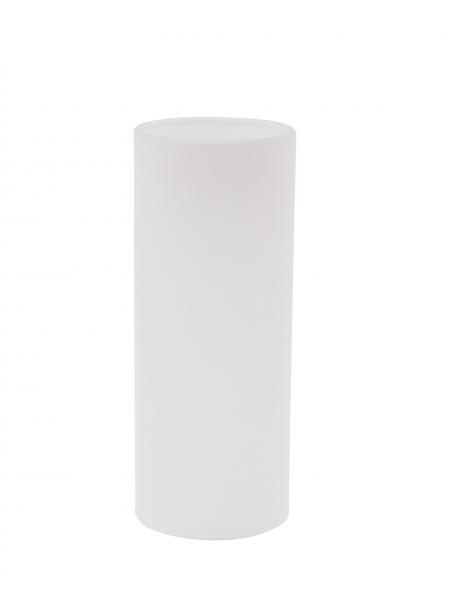 Candola Glaszylinder Pipe weiß, milchig (Type: A) - 6 Stück