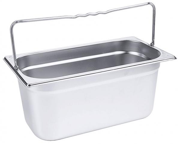 GN-Behälter mit Bügelgriffen 1/3 Tiefe: 150 mm Volumen: 5,7 l