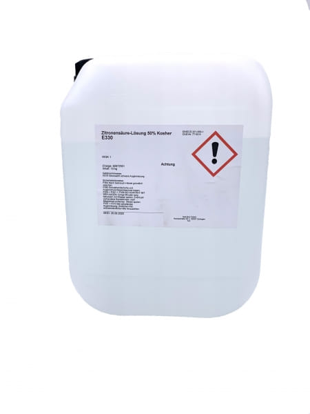 SeduClean Zitronensäurelösung 50 % / Entkalker 10 Kg