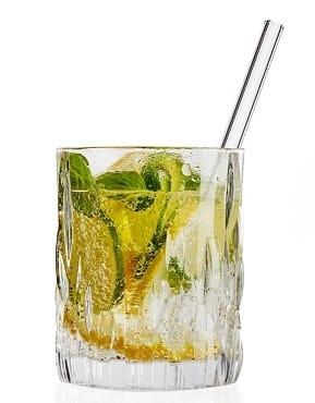 Trinkhalme aus Glas 15 cm Ø 10 mm