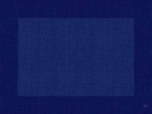 DUNI Tischsets Dunicel 30 x 40 cm Linnea dunkelblau