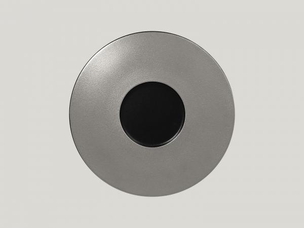 RAK Gourmetteller flach D. 29 cm H. 2 cm METALFUSION silber