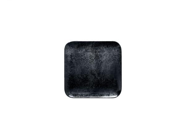 RAK Teller quadratisch 15 x 15 cm KARBON schwarz (KRAUSP15)